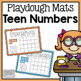 Teen Number Playdough Mats 11-20