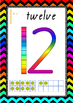 Teen Number Posters