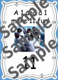 Teen Number Posters (Disney Inspired)