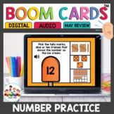 Teen Number Practice Boom Cards