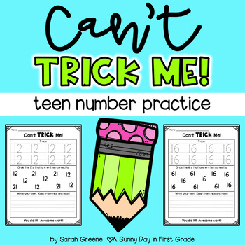 Teen Number Practice | Can't Trick Me!