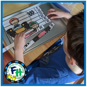Teen Number Puzzles {Numbers 11-19}