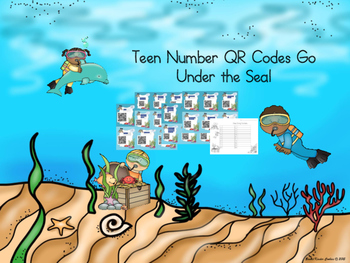 Teen Number QR Codes go Under the Sea!
