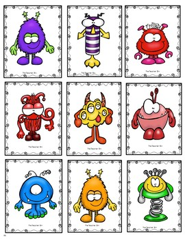 Kindergarten-Special Education- Teen Number Recognition Game
