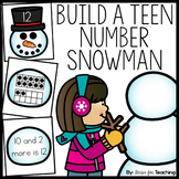 Teen Number Snowmen