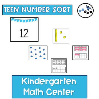 Teen Number Sort: Eureka Math Module 5 Topic B