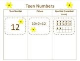 Teen Number Sort