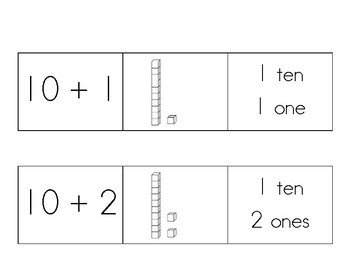 Teen Number Sorting Mats
