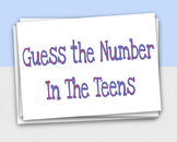 Teen Number Ten Frame Flash Cards - Google Slides