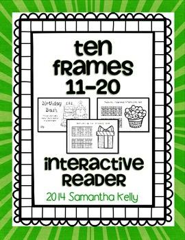 Teen Number Ten Frames Interactive Reader