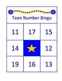 Teen Number/Ten Group Bingo