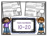 Teen Numbers 10-20