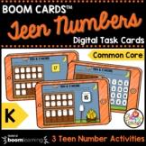 Teen Numbers 11-20 Kindergarten Math Centers on a Boom Car