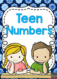 Teen Numbers Activities For Hands On Learners (Special Education Resource)