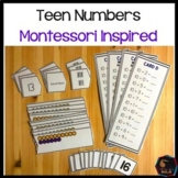 Montessori Teen Numbers