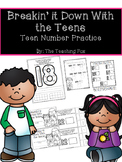 Teen Numbers: Practice for Numbers 11-20