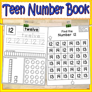 Teen Numbers Worksheets Teaching Resources Teachers Pay Teachers