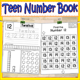 Teen Numbers Kindergarten | Teen Numbers Activities | Teen