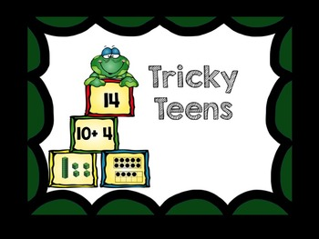 Teen Numbers (base ten resources, activities, and printables)