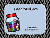 Teen Numbers Activities