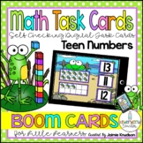 Teen Numbers Digital Task Cards / Distance Learning / Boom Cards