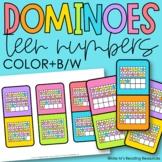 Teen Numbers Dominoes
