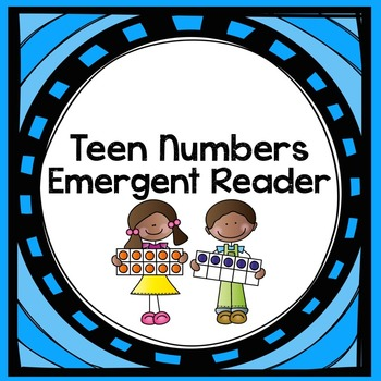 Teen Numbers Emergent Reader