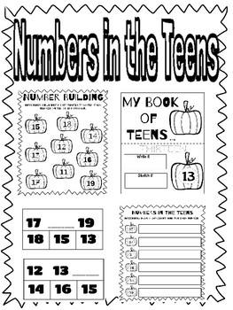 Teen Numbers-Fall Edition