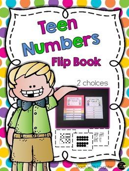 Teen Numbers Flip Book