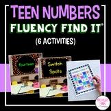 Teen Numbers Fluency Find It®