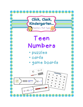 Teen Numbers: Games and Puzzles