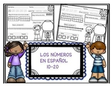 Teen Numbers In Spanish 10-20