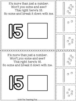Teen Numbers {Interactive Reader}