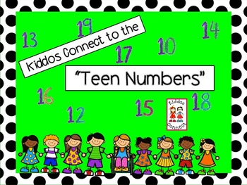 Teen Numbers - Kiddos Connect to the Teen Numbers
