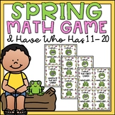 Teen Numbers Kindergarten 11-20 I Have Who Has Spring Math Game