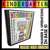 Teen Numbers and Place Value  Kindergarten Math Unit - Common Core Lessons