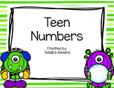 Teen Numbers Task Cards