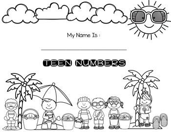 Teen Numbers - Number Sense
