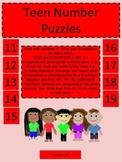 Teen Numbers Puzzle