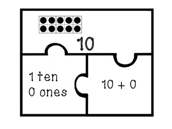 Teen Numbers-Puzzles
