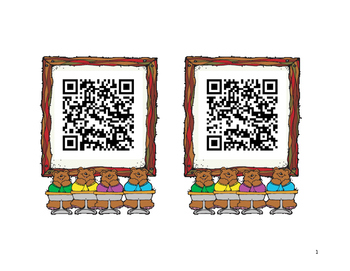 Teen Numbers QR Codes