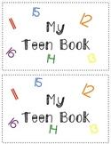 Teen Numbers Review Book