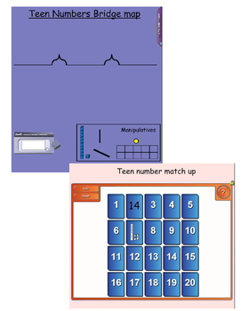Teen Numbers Smartboard