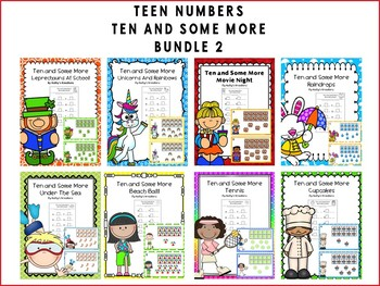 Teen Numbers Ten And Some More Bundle 2