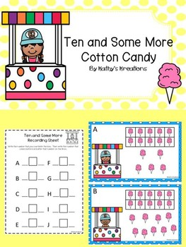 Teen Numbers Ten And Some More Cotton Candy