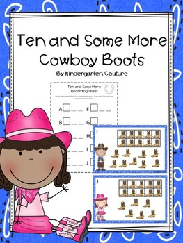 Teen Numbers Ten And Some More Cowboy Boots