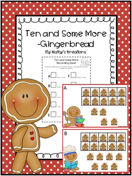 Teen Numbers Ten And Some More Gingerbread
