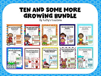 Teen Numbers Ten And Some More Bundle 1