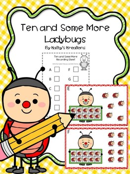 Teen Numbers Ten And Some More Ladybugs
