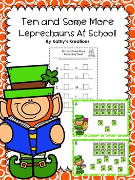 Teen Numbers Ten And Some More Leprechauns At School